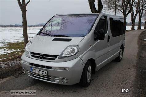 opel vivaro 2003 2003 opel vivaro 2 5 cdti westfalia trailer hitch