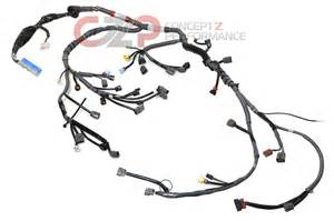 nissan oem 300zx engine wiring harness 90 93 turbo mt z32 b4011 31p60 nissan performance
