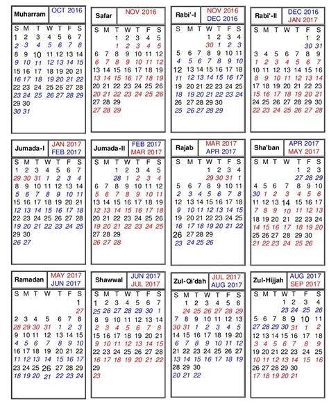 islamic christian  jewish hebrew calendars iqrasensecom
