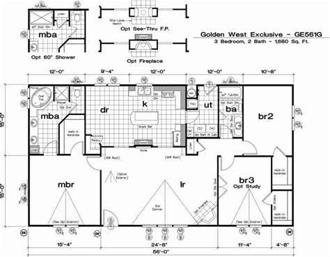 modular home floor plans california manufactured homes california floor plans images
