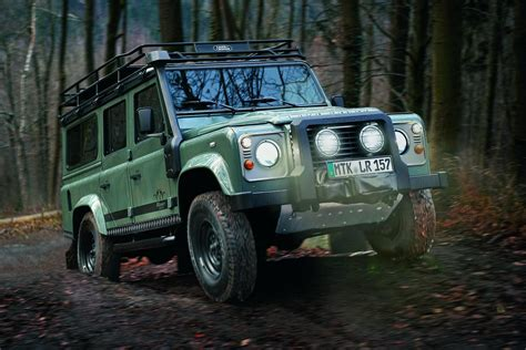 land rover defender 2012 land rover defender blaser edition revealed
