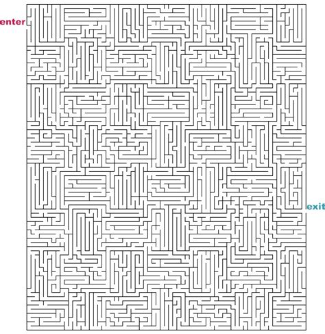 printable rectangular mazes mazes to print hard rectangle mazes