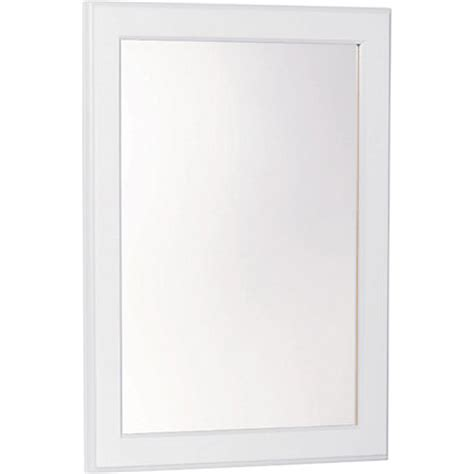 bathroom mirrors homebase mirror white