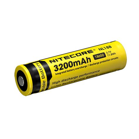 Nitecore 18650 Baterai Li Ion Low Temp High Perform 2900mah Nl1829lthp nitecore 18650 3 7 v 3200 mah li ion protected battery
