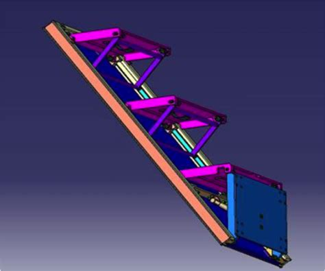 foldable stairs folding stairs arianetech ingenieria