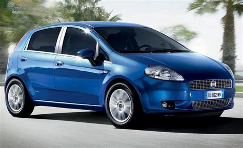 2009 fiat punto car and driver