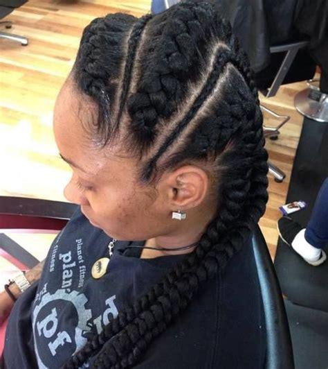 asysmetrical braids 40 inspiring exles of goddess braids asymmetrical
