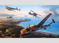 messerschmitt bf 110 gladiator mk2 battle for malta siege ... B 17 Flying Fortress Wallpaper