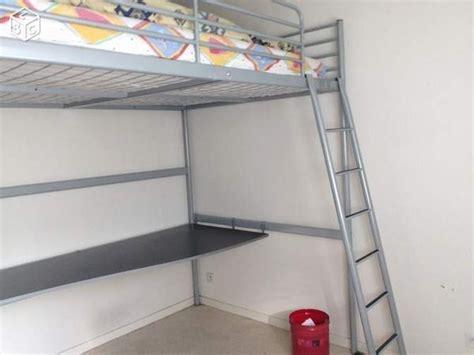 lit mezzanine ikea avec bureau lit mezzanine ik 233 a clasf