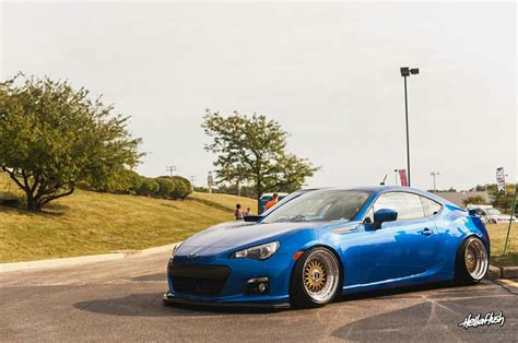 subaru brz stanced subaru brz cars bagged stanced pinterest