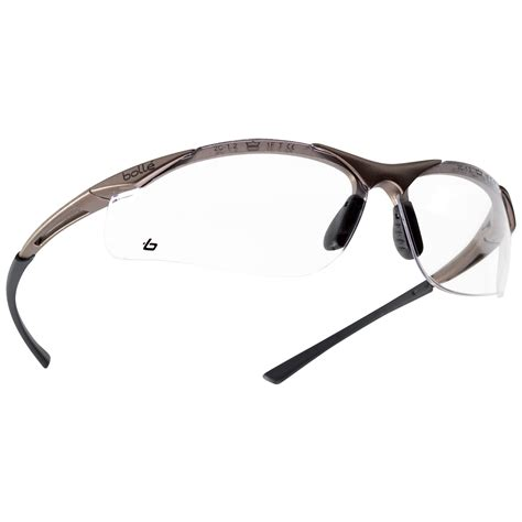 a bolle bolle 40044 contour safety glasses gunmetal frame