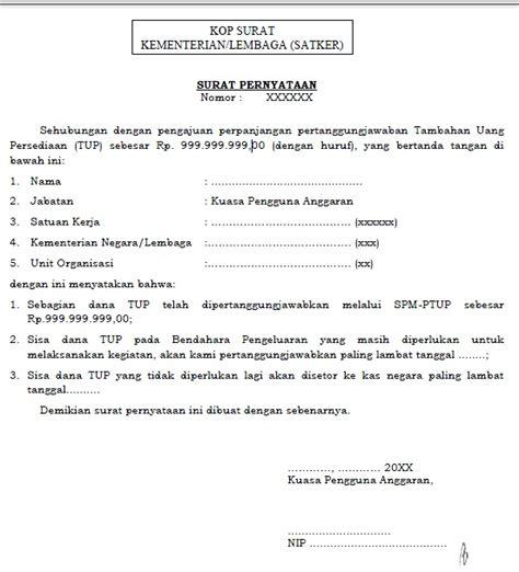 contoh surat perjanjian akses