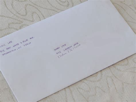 Resignation Letter Envelope How To Write A Letter To Your Penpal 6 Steps