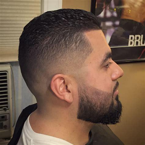 types of mid fade cut slick back with medium bald fade youtube