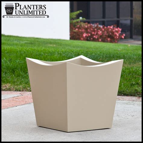 Square Outdoor Planters Nazca Square Planters Modern Garden Planters Outdoor