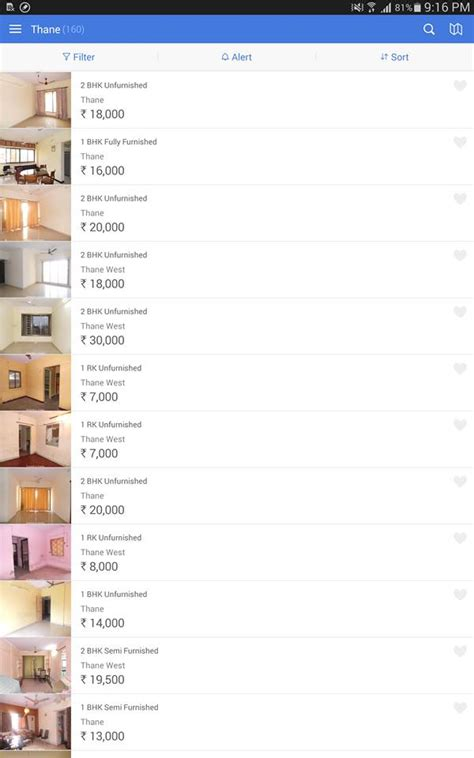 housing apps housing com android app review search properties from mobile