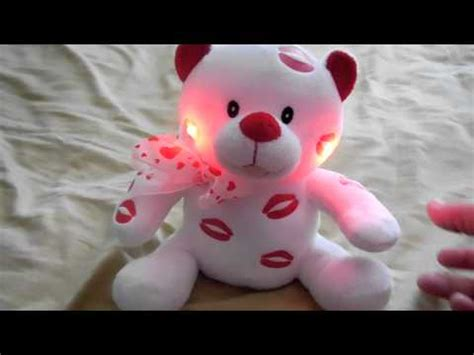 sound and light animatronics kisses sweet talking light up by sound n