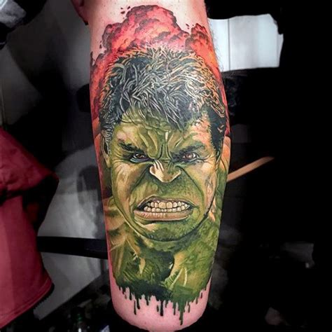 72 most wonderful marvel tattoos that look great on your