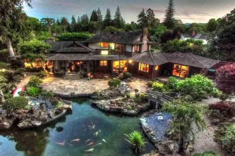 Japanese Homes For Sale by Historic Japanese Inspired Estate For Sale In San Mateo