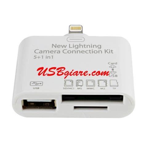 New Lightning Connection Kit đầu đọc thẻ cho 4 mini new lightning connection kit 5 in 1