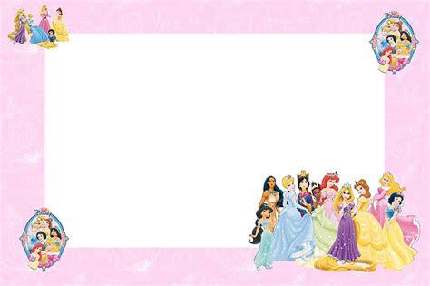 princess letter template disney princess free printable invitations oh my