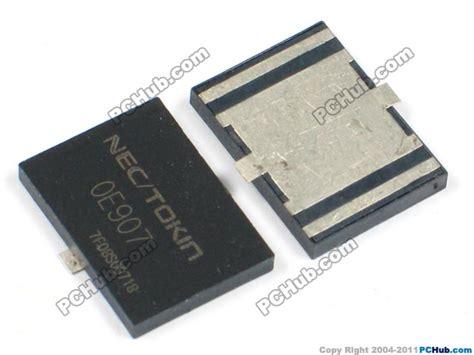nec tokin oe907 capacitor nec tokin capacitor capacitor smd tantalum nec tokin oe907
