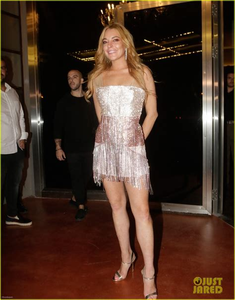 Random Lindsay Lohan Club Pictures by Lindsay Lohan Would To Host Jenner At
