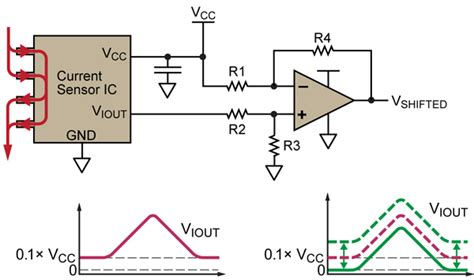 design of a hall effect current transformer allegro microsystems shifting the offset voltage of