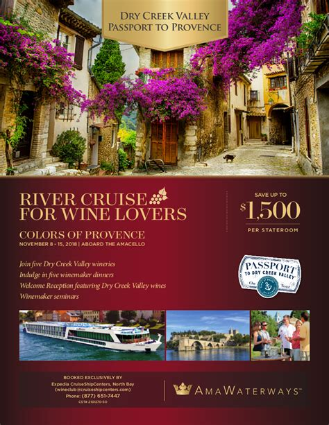 colors of provence colors of provence drycreek expedia wine club cruises