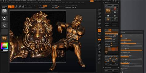 mastering zbrush 4r6 materials pixologic zbrush features