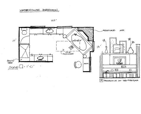master bathroom blueprints awesome master bathroom floor plan pictures home