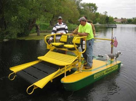 electric boat inc weedoo electric airboat could clean up gulf wetlands