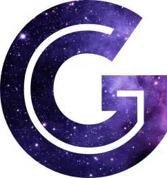 Large Letter Stickers For Walls quot the letter g space quot stickers by mike gallard redbubble