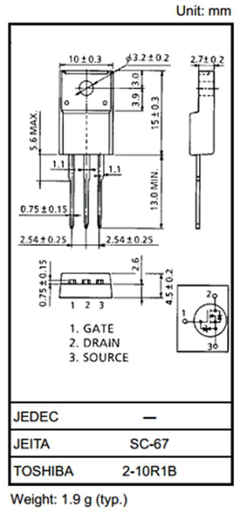 mosfet transistor basics pdf k2996 datasheet pdf n channel mosfet toshiba