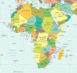 afrika haritası ve uydu g 246 r 252 nt 252 leri