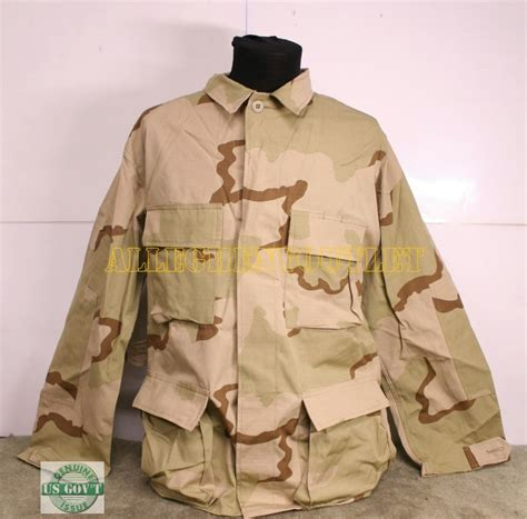 desert military us army dcu desert bdu combat uniform shirt m r new ebay