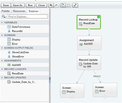 visual workflows using flow visual workflow is it possible
