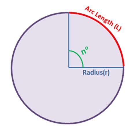 calculator arc arc length calculator find length of an arc calculator