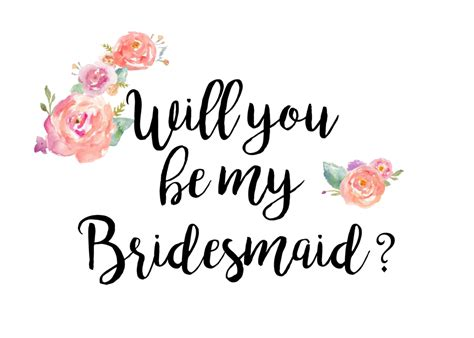 will you be my text will you be my bridesmaid pink cosmetics