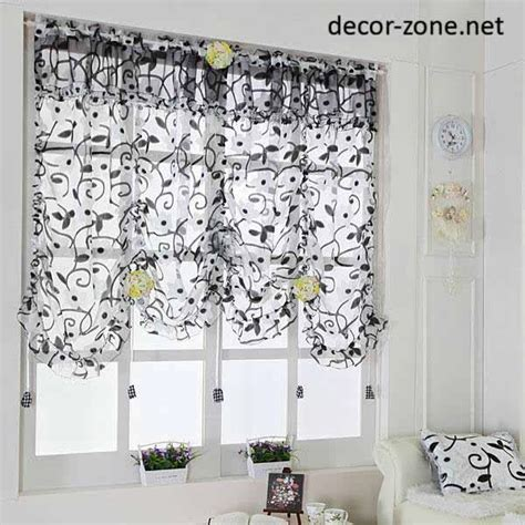 curtains for small kitchen windows modern kitchen curtains ideas from south korea