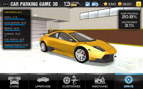 3d Auto Spiele by Car Parking 3d Real City Driving Challenge