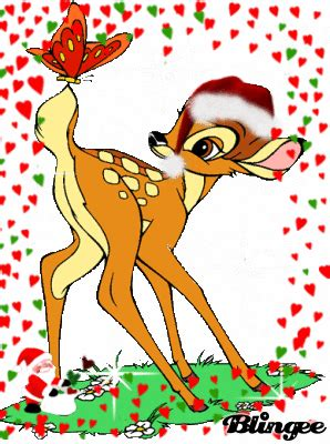 bambi christmas picture  blingeecom