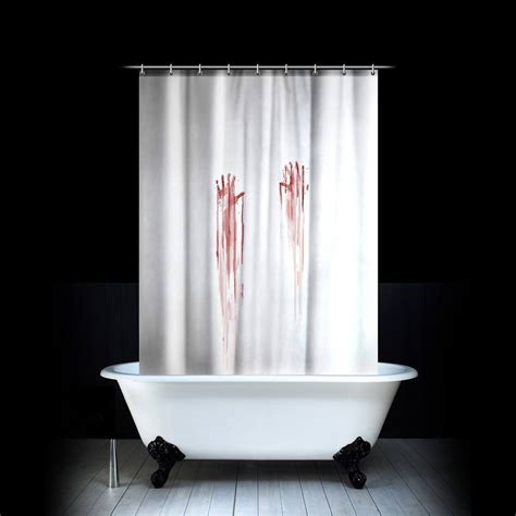 bath shower curtain blood bath shower curtain 187 gadget flow