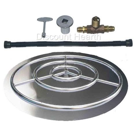 pit pans with burners 18 quot 24 quot 30 quot 36 quot stainless steel burner pan with burner