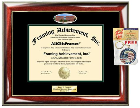 Personalized Mba Gifts by Colorado State Diploma Frame Csu Degree Framing
