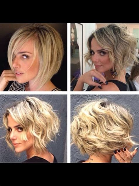 how to curly a short bob hairstyle 38 super cute ways to curl your bob popular haircuts for