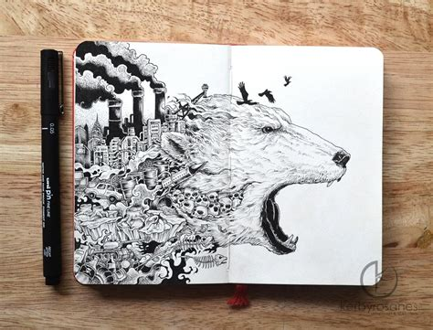 sketch book wiki explosive moleskine doodles by kerby rosanes colossal