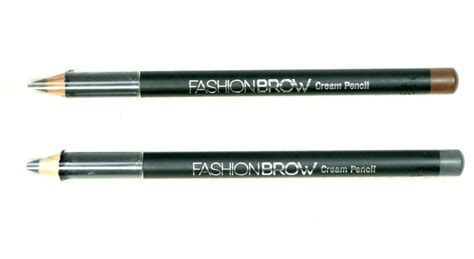 Maybelline Fashion Brow Pencil maybelline fashion brow pencil brown gray review swatches