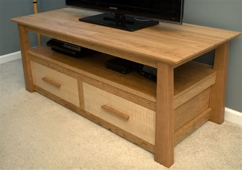 Cherry Tv Stand By Garagewoodworks Lumberjocks Com