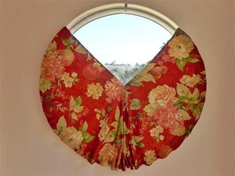 round window curtains blog